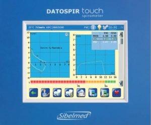 Gráficos de espirómetro para calibración