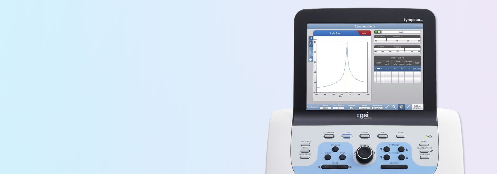 Producto GSI timpanómetro Tympstar Pro